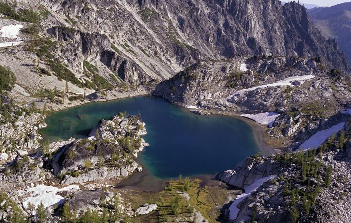 Crystal Lake, Alpine Lakes Wilderness